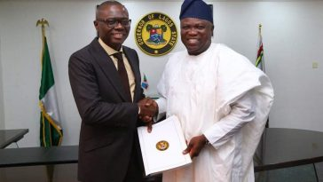 Ambode congratulates Sanwo-olu, to be absent at inauguration 2