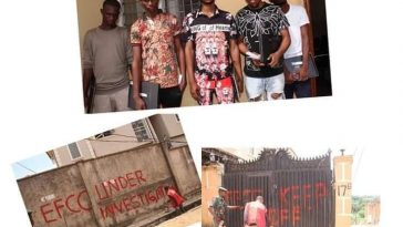 Proprietor and Students of Yahoo Yahoo Training School school arrested by EFCC 5