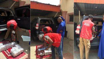 EFCC Arrests Brother Of Zamfara State SSG With N60 Million Cash Inside Car Boot [Photos] 6