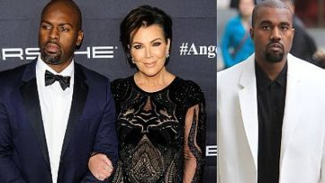 Kris Jenner Falls Out With Kanye West After He 'Disrespected' Her Boyfriend, Corey Gamble 7