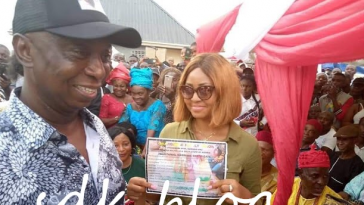 Regina Daniels Shows Off Her Traditional Marriage Certificate To Ned Nwoko [Photos] 5