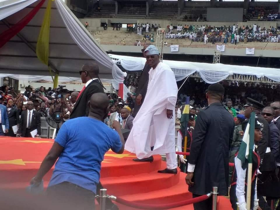 PHOTONEWS: Babajide Sanwoolu arrives for his Inauguration as the new governor of Lagos State 3