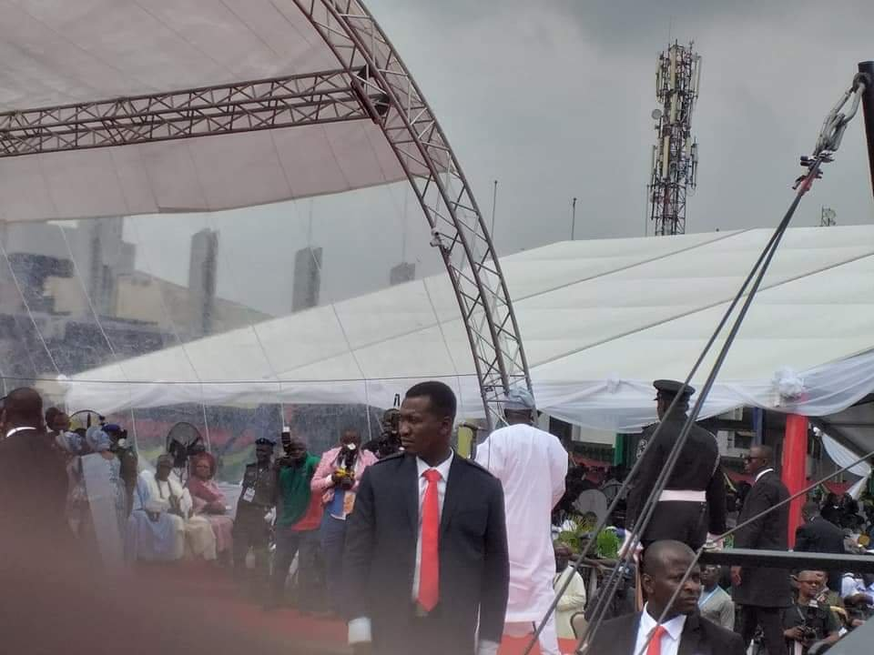 PHOTONEWS: Babajide Sanwoolu arrives for his Inauguration as the new governor of Lagos State 6