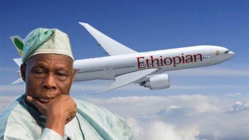 Obasanjo, 393 Others Escapes Plane Crash On Ethiopian Airline In Lagos 6
