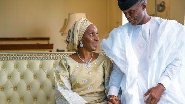 """""""With You By My Side, I'm Ready For The Next 4 Years"""" – Osinbajo Gushes Over His Wife, Dolapo 1"""