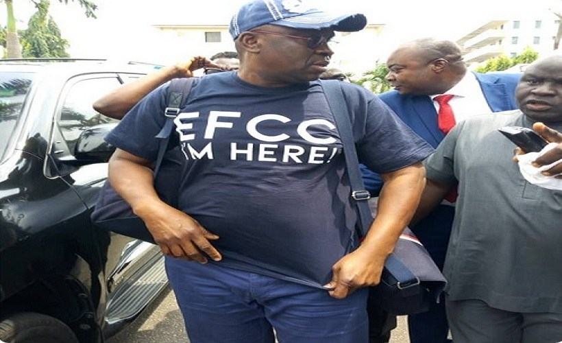 """Just Like Me, Surrender Yourselves To The EFCC"" - Fayose Advices Amosun, Okorocha 1"