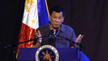 """I Cured Myself Of Being A Gay With Pretty Women"" - Philippines President, Rodrigo Duterte 1"