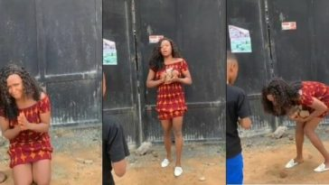 Disgraced Blogger, Blessing Okoro Joins Other Nigerians To Mock Herself In New Viral Video 6