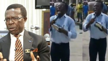 Nigerian Billionaire, Cosmas Maduka Spotted Preaching The Gospel On The Streets Of Lagos [Video] 9