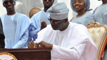 Lagos Governor Sanwo-Olu Signs N873.5 Billion Budget Into Law 11