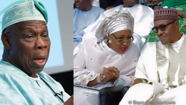 """Have Pillow Talk With Your Husband On Nigeria's Problems"" – Obasanjo Tells Aisha Buhari 3"