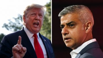 UK VISIT: Donald Trump Calls London Mayor A 'Stone Cold Loser' For Being 'Foolishly Nasty' To Him 1