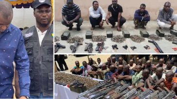 Notorious Cartel Smuggling Arms And Ammunition Into Nigeria Arrested By Police [Photos] 2
