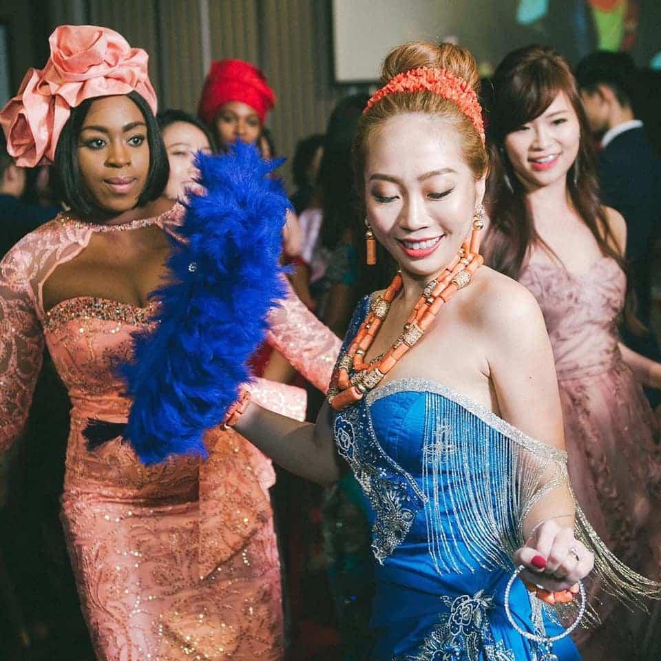 Nigerian Man And Taiwanese Girlfriend Holds Igbo Traditional Wedding Ceremony [Photos/Video] 5