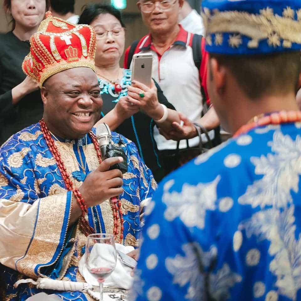 Nigerian Man And Taiwanese Girlfriend Holds Igbo Traditional Wedding Ceremony [Photos/Video] 7