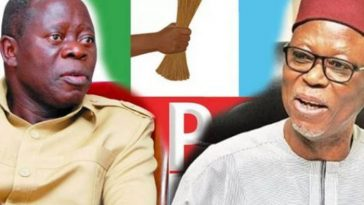 """""""Oshiomhole Should Not Destroy What Others Had Laboured To Build"""" - Former APC Chairman 1"""