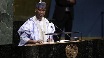 Nigerian Ambassador, Tijjani Muhammad-Bande Elected As President Of United Nations General Assembly 2