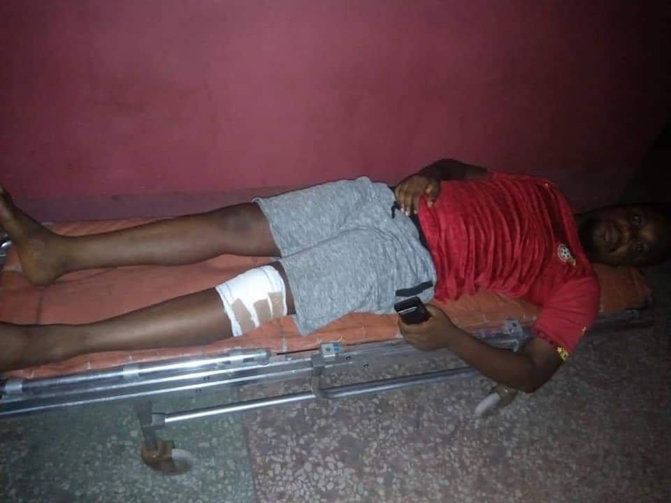 SARS Operatives Brutalize Radio Personality Kofi Bartels 2
