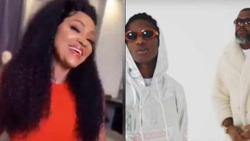 'On A Low' Turns Me On So Bad - Mercy Aigbe Gushes Over Wizkid And Larry Gaaga's Song [Video] 1