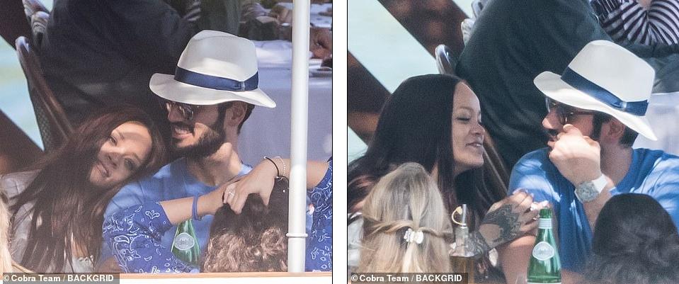 Rihanna Enjoys Romantic Boat Trip With Billionaire Boyfriend Hassan Jameel In Italy [Photos] 1
