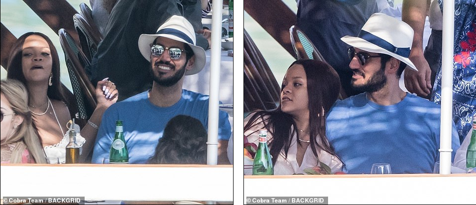 Rihanna Enjoys Romantic Boat Trip With Billionaire Boyfriend Hassan Jameel In Italy [Photos] 5