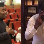"""I Will Miss You, But We'll Meet On The Streets Of Abuja"" - Dino Melaye Mocks Akpabio [Video] 13"