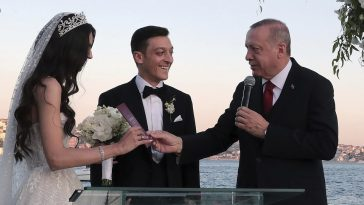 Arsenal Star Mesut Ozil Marries In Istanbul, With Turkish President Erdogan As His Best Man [Photos] 8