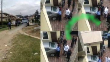 Billionaire's Son, Adenuga Storms His Babymama's House With 25 Policemen, Whisk Away Daughter 4