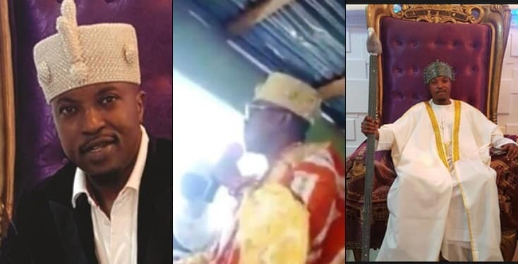 Imam Accuses Iwo King Of Trying To Sleep With His Wife, As King Vows To Beat Him Up [Video] 1
