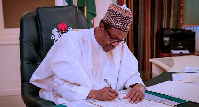 Corruption Fight: Buhari Signs New Bill To Prosecute Offenders Within Or Outside Nigeria 1