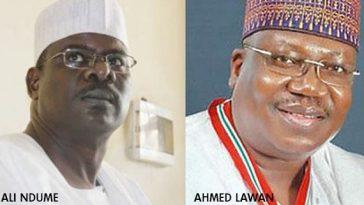 Breaking News: Ahmed Lawan Beats Ali Ndume To Become New Senate President 1