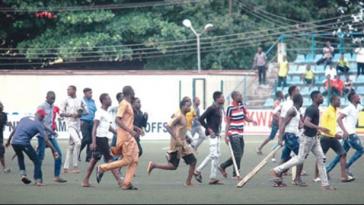Kano Pillars Vs Enugu Rangers Match Ends In Violence As Referee Runs For His Dear Life [Video] 4