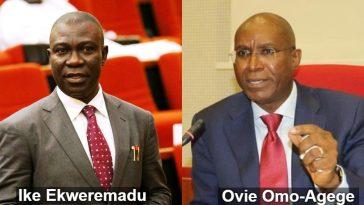 Breaking News: Omo-Agege Defeats Ekweremadu, Emerges New Deputy Senate President 3