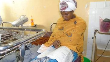 21-Year-Old Lady Sits For Her Secondary School Exam Just 30 Minutes After Giving Birth 8