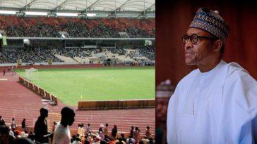 Breaking News: President Buhari Renames Abuja National Stadium After MKO Abiola 5