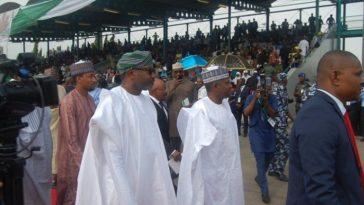 All Former Heads Of State, Including Goodluck, Obasanjo Absent At Inaugural June 12 Democracy Day 1