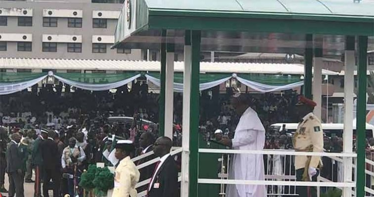Read President Buhari's Inaugural Speech During Democracy Day Celebration In Abuja 1