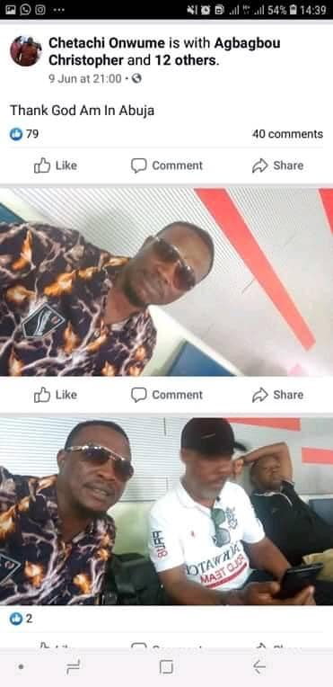 Lady Goes On 'One Man' Protest After Rivers Lawmaker Allegedly Raped Her Sister In Abuja 4