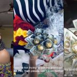 Nigerian Guy Sends Bouquet Of Dollars To His Crush In UNILAG Just To Get Her Attention [Video] 30