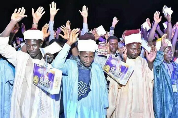 PHOTOS: Imams, Traditionalists Receives Jesus Christ At Pastor Oyakhilome's Crusade 4