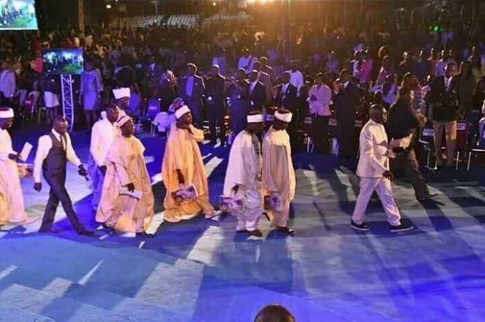 PHOTOS: Imams, Traditionalists Receives Jesus Christ At Pastor Oyakhilome's Crusade 1