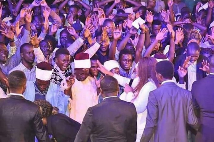 PHOTOS: Imams, Traditionalists Receives Jesus Christ At Pastor Oyakhilome's Crusade 3