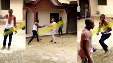 Jealous Man Who Has Been Spending Money To Win A Girl's Heart, Fights Her Boyfriend [Video] 5