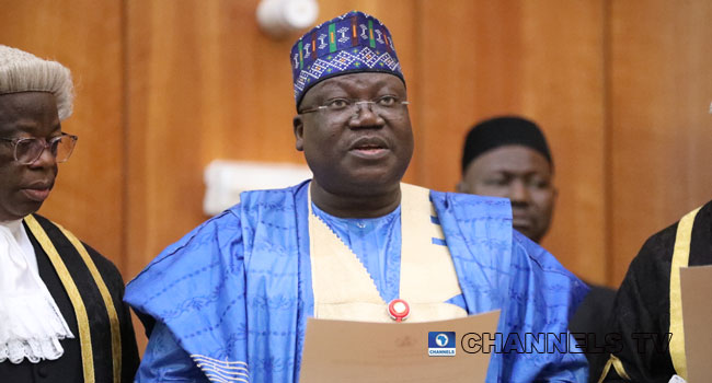 """""""National Assembly Will Pass Budget Within 3 Months Under My Leadership"""" – Ahmed Lawan 1"""