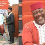 """The Mace Thief"" – Dino Melaye Mocks New Deputy Senate President, Omo-Agege On IG 7"