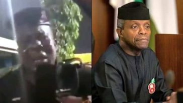 Yahoo Boy Pretends To Be VP Osinbajo, Dupe Nigerian Policeman And His Wife [Video] 3