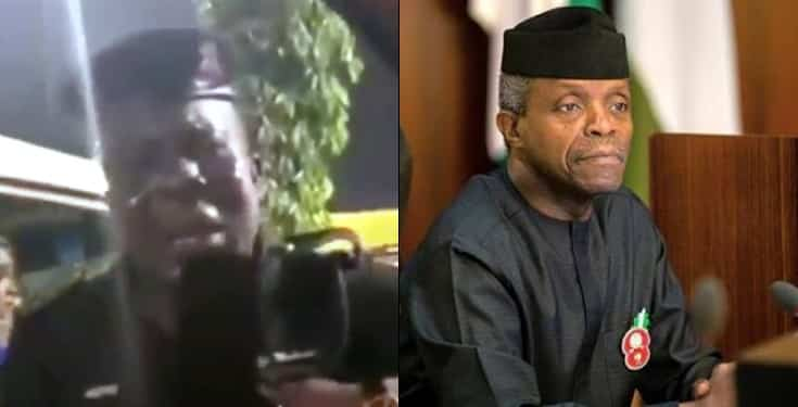 Yahoo Boy Pretends To Be VP Osinbajo, Dupe Nigerian Policeman And His Wife [Video] 1