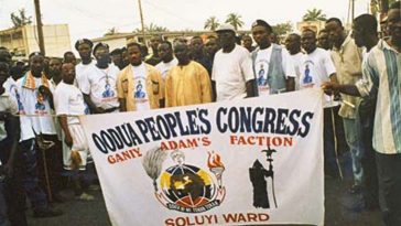 Oodua Peoples Congress OPC