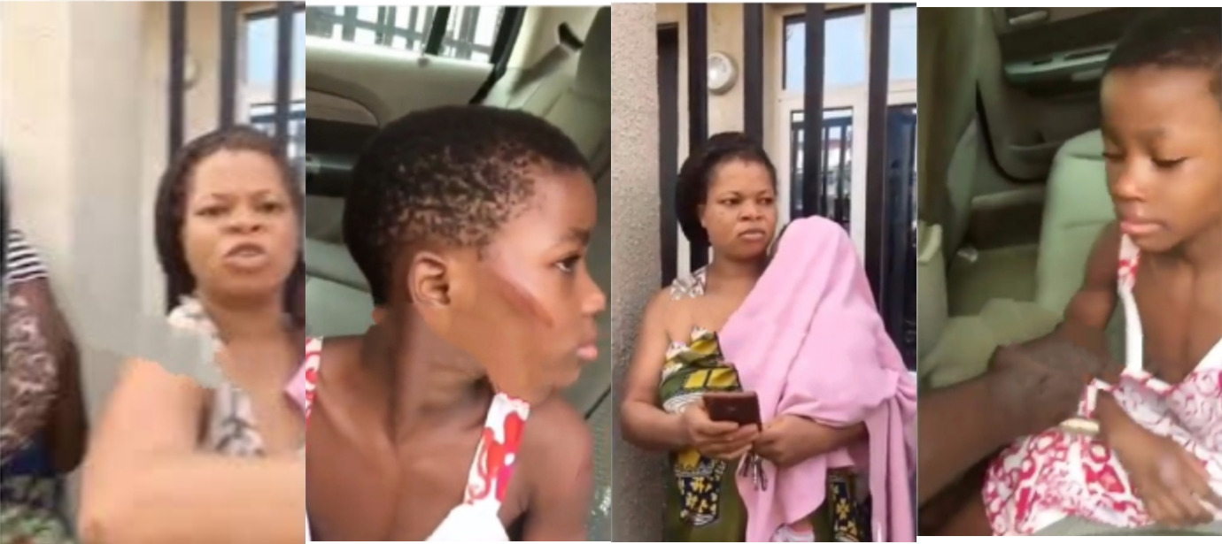 Woman Attacks Neighbors Who Came To Stop Her From Brutalizing Her Housemaid In Lagos [Video] 1