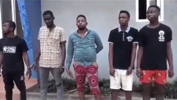 5 Nigerians Arrested In Ghana For Robing & Sleeping With A Woman In Presence Of Her Husband 5